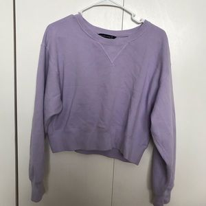 Abercrombie and Fitch cropped sweat shirt